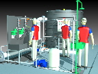 package potable water chlorine dosing system