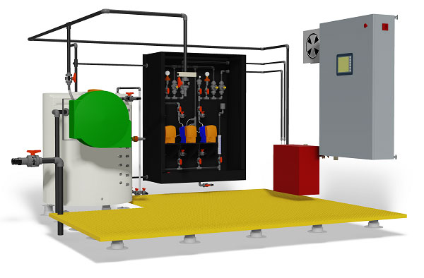 Building Mount Chemical Dosing Systems