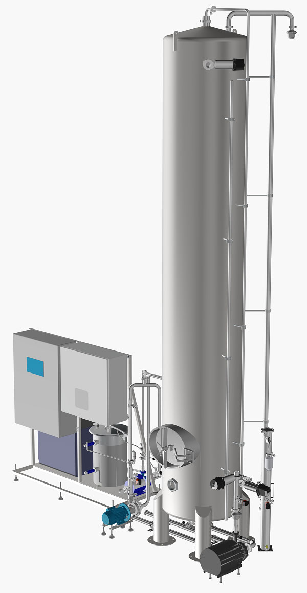 O3pure Ozone Bottled Water Disinfection System