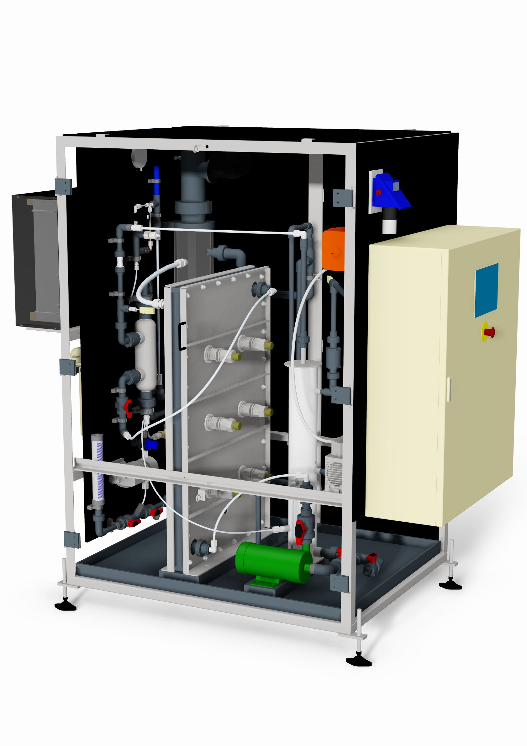 HG-100-G electricide electrochemical chlorine generator