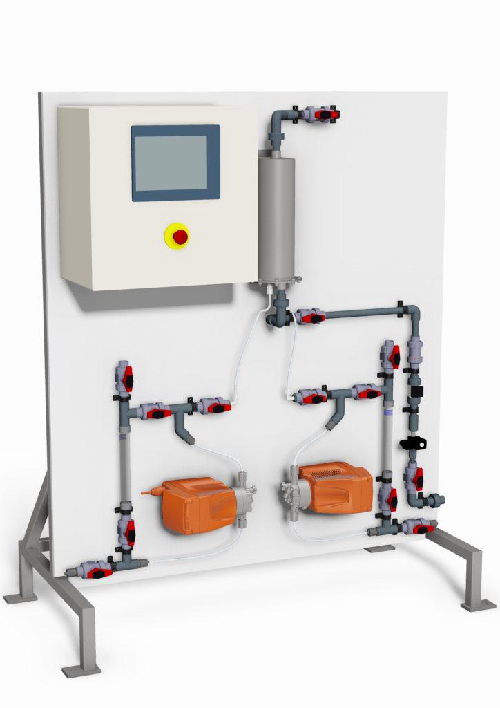 2 Chemical Chlorine Dioxide Acid Chlorite Generators