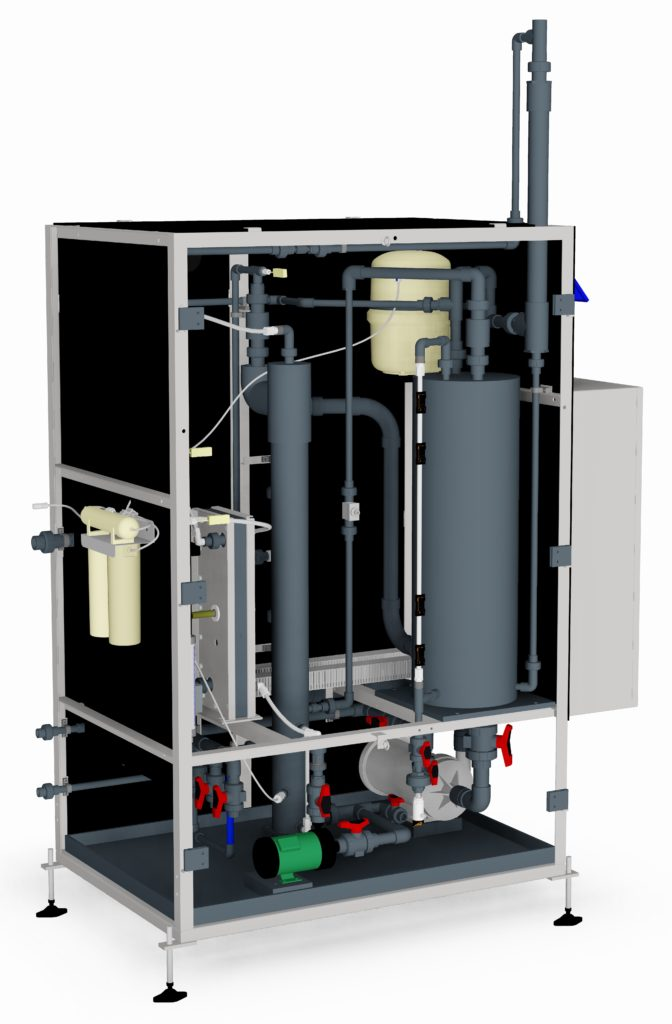 Chlorine Dioxide Generation and Dosing Systems: chemical and e-chem