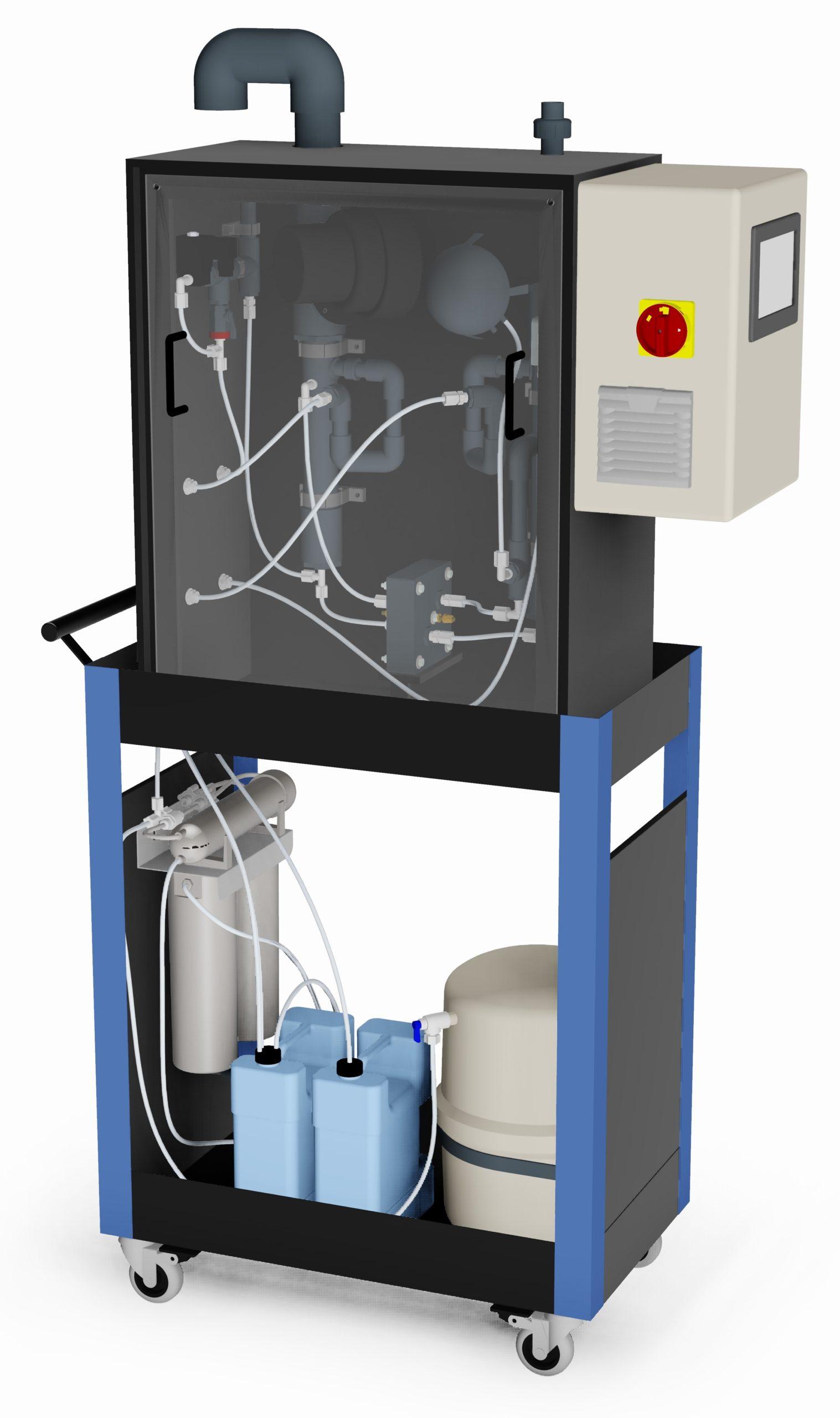 CMG chlorine dioxide gas generator